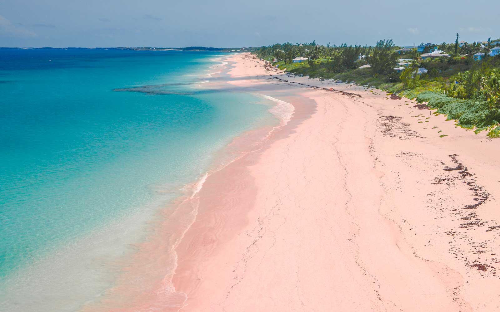 The World\'s Most Beautiful Pink Sand Beaches | Travel + Leisure
