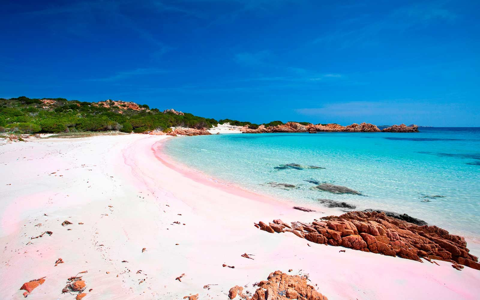 The World S Most Beautiful Pink Sand Beaches Travel Leisure