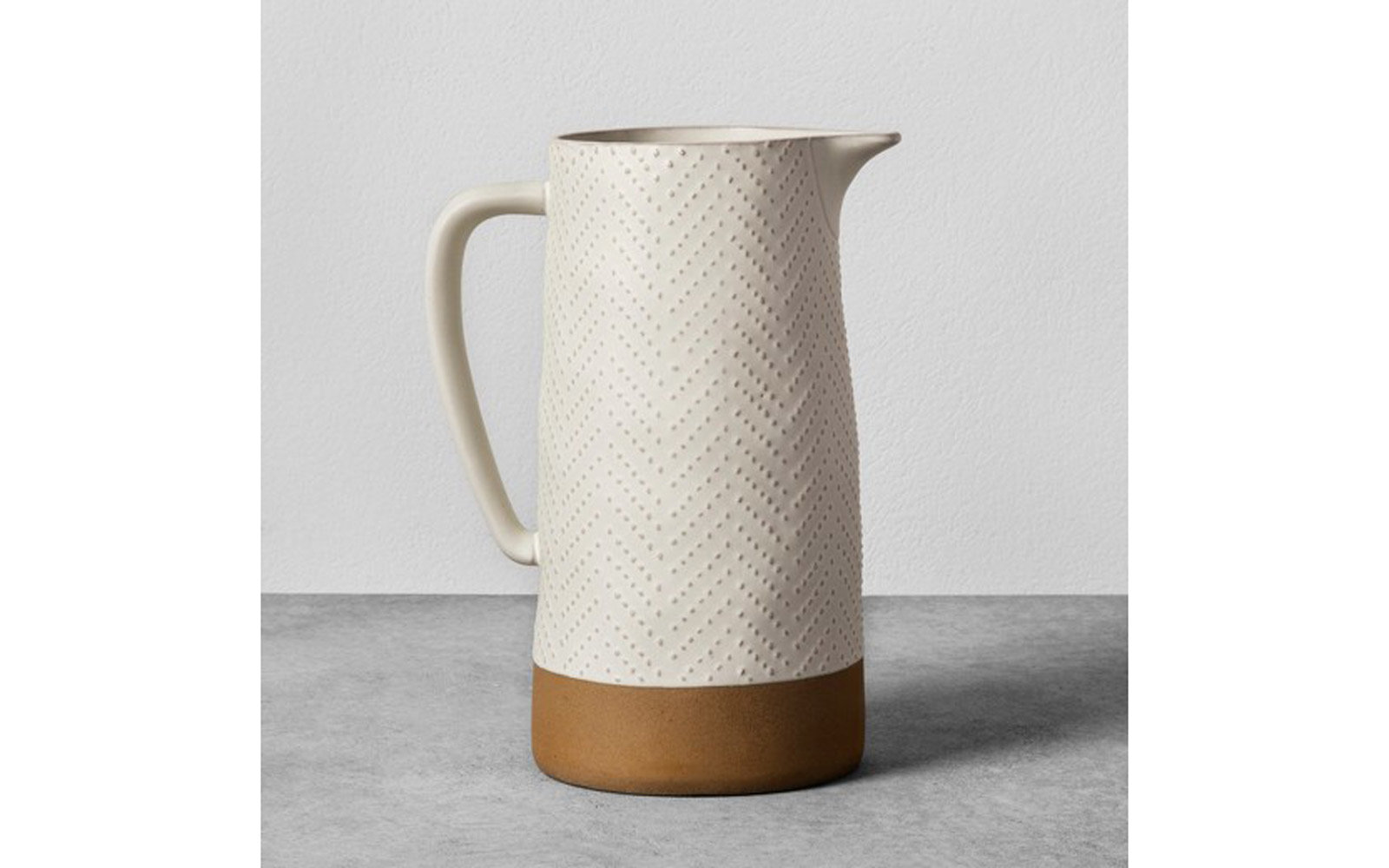 Hearth & Hand with Magnolia: Stoneware Pitcher