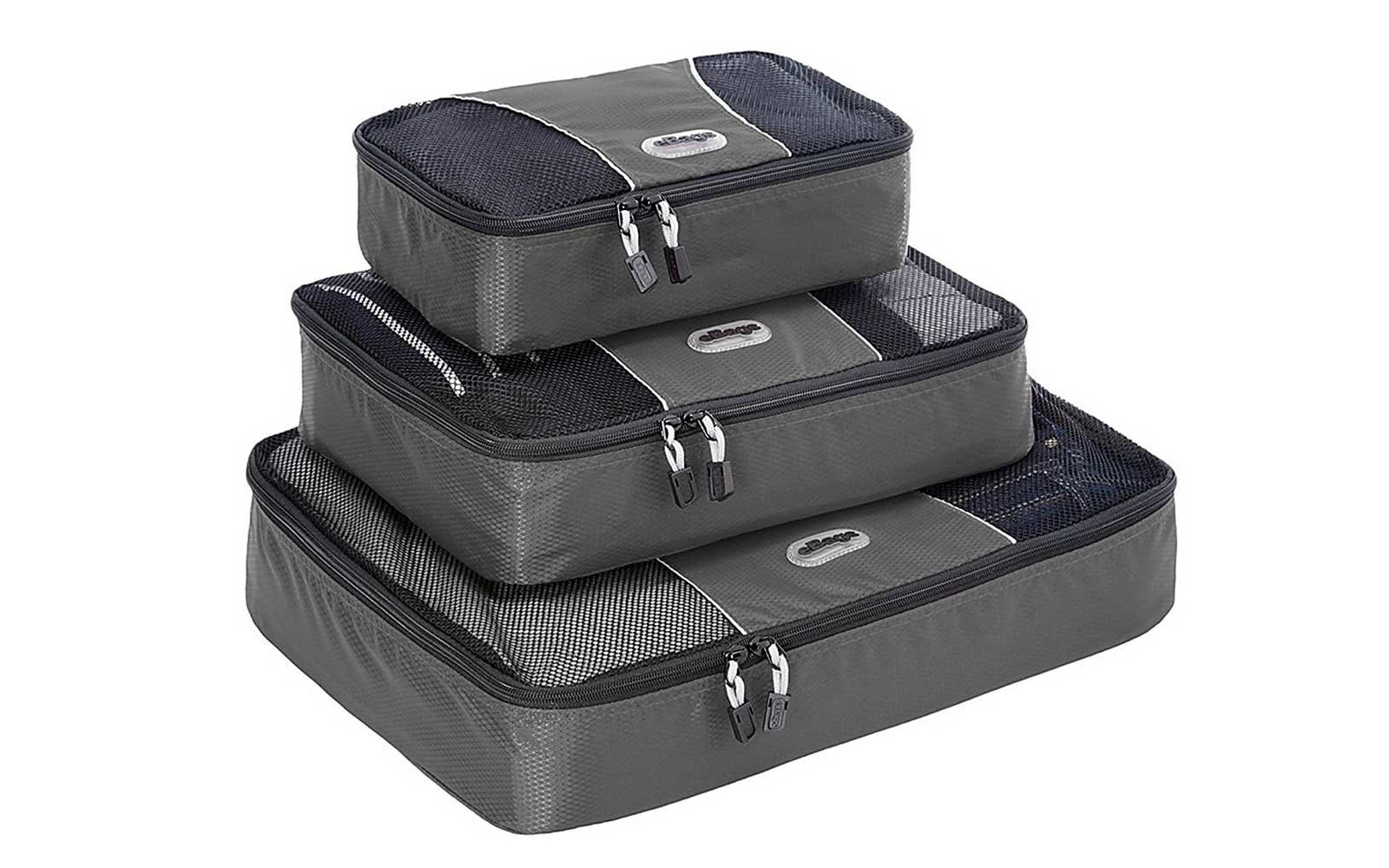 Packing Cubes to make your suitcase neater