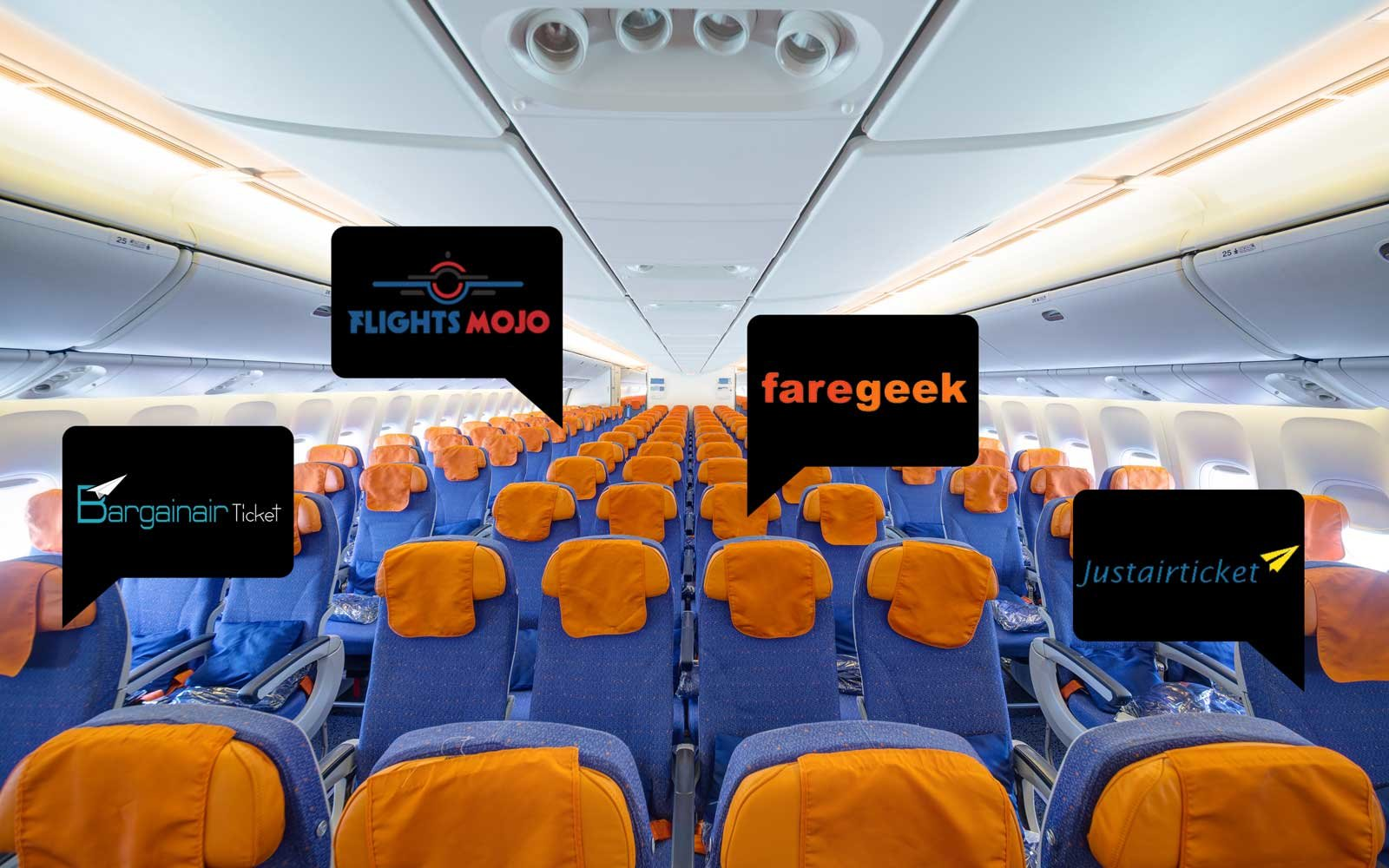 Use these third party sites to book your flight