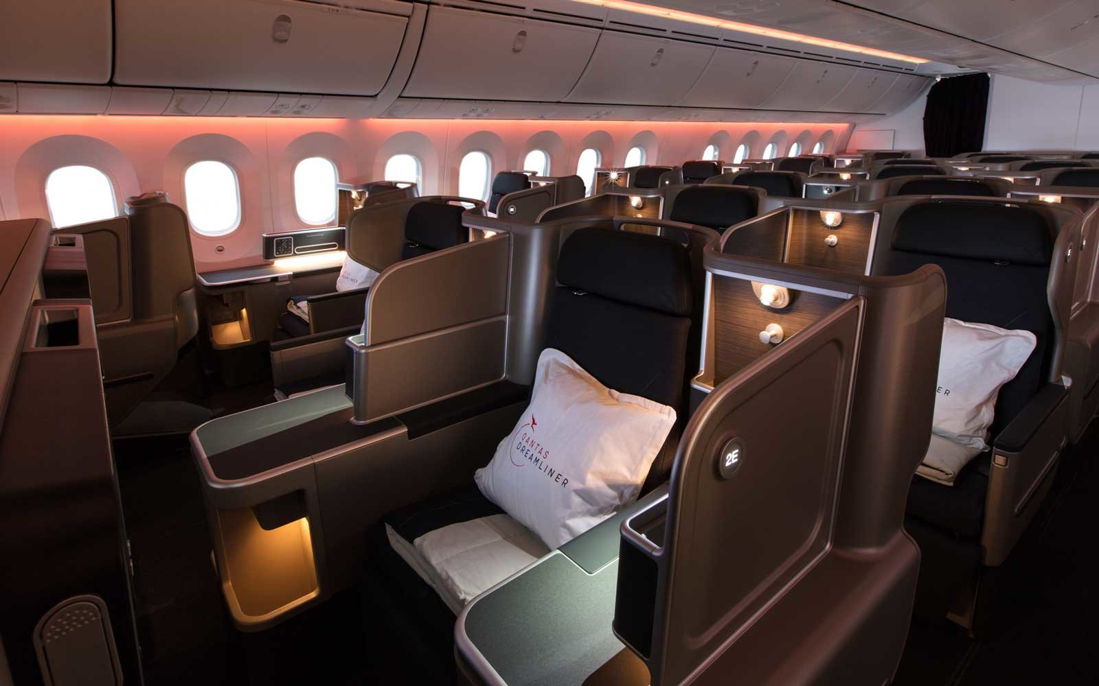 Qantas Business Cabin