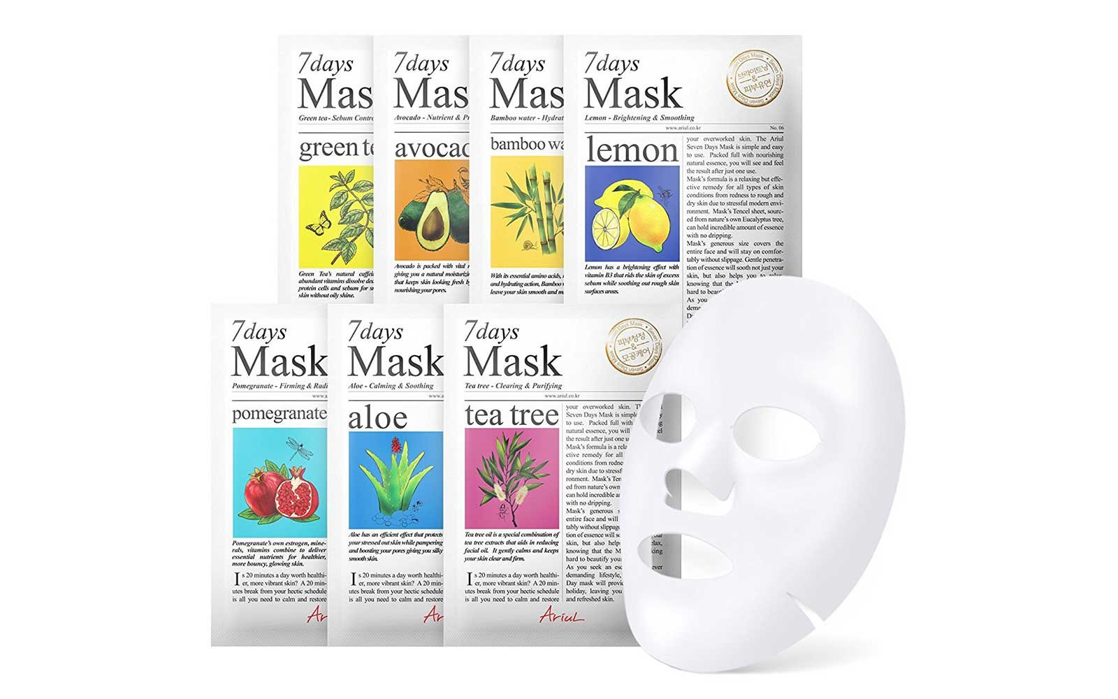 Ariul Face Mask Set