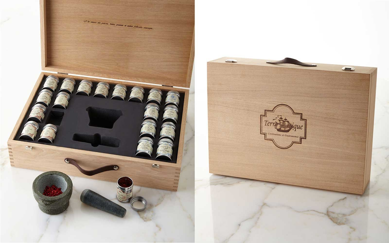 Gourmet Salt Pepper Kit And Gift Box