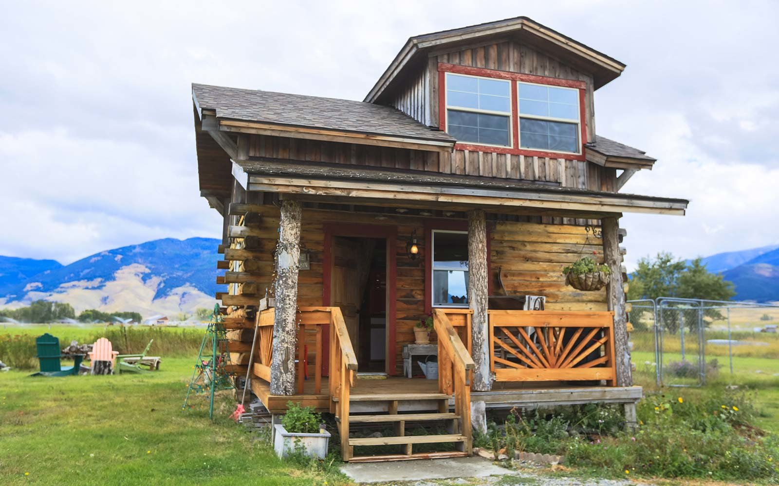 lost antler cabin paradise montana
