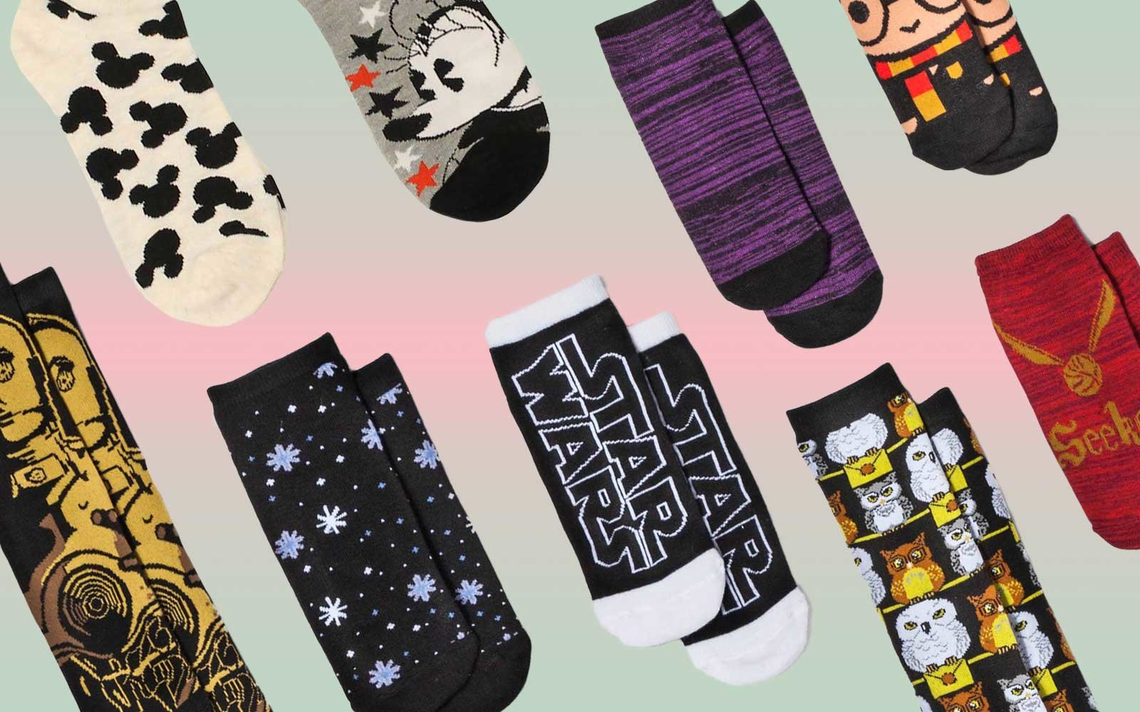 harry potter star wars and disney sock advent calendars are now available at target travel. Black Bedroom Furniture Sets. Home Design Ideas
