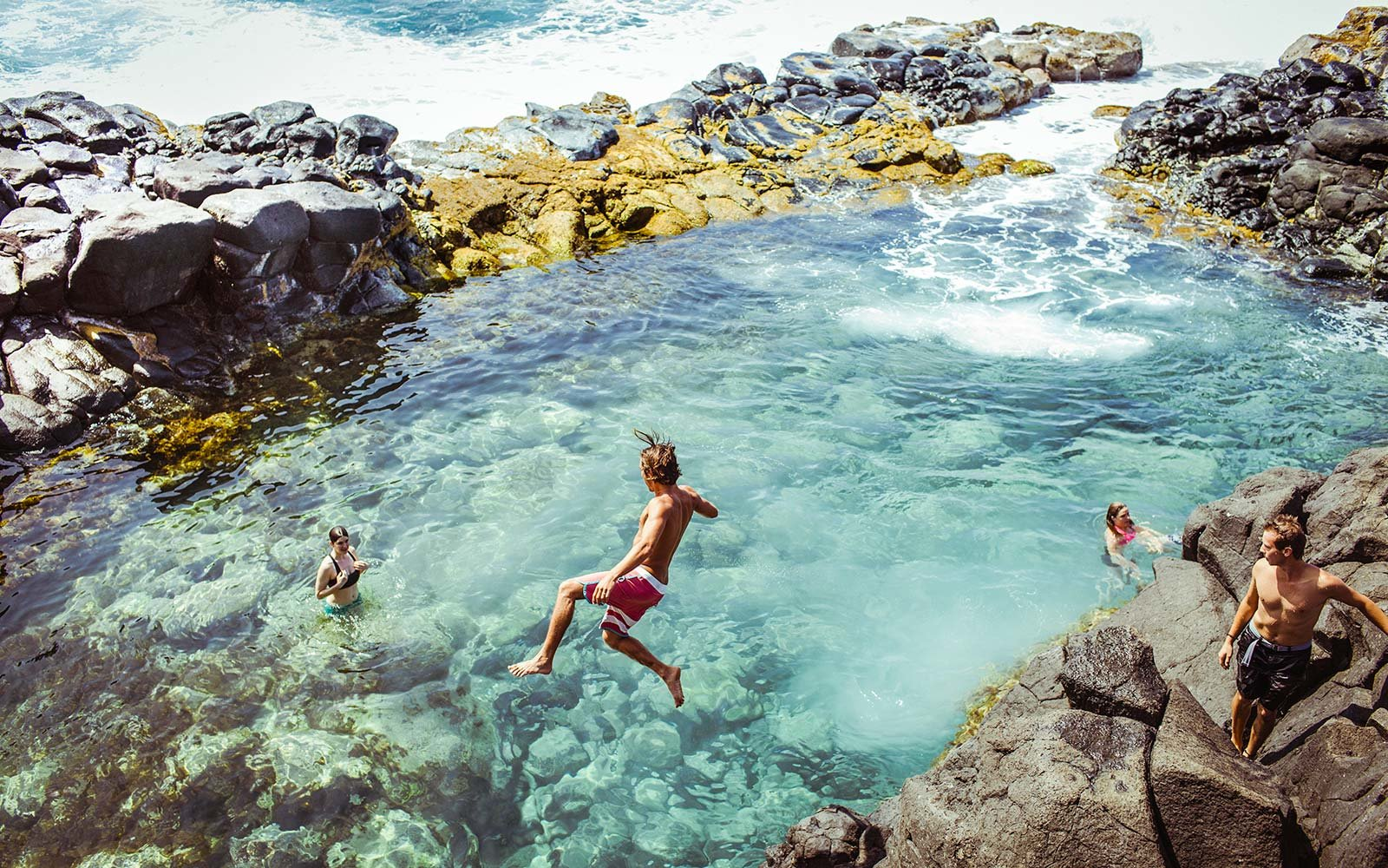 This Secret Volcanic Pool In Hawaii Is A Thrill Seeker S