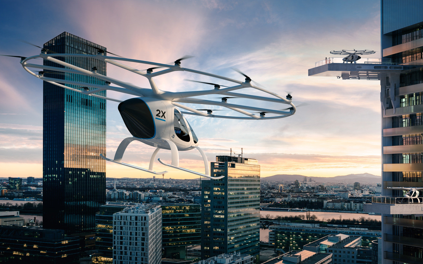 We like the Volocopter because it's just so weird.