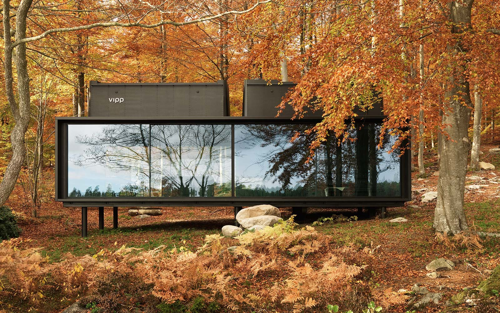vipp shelter hotel accommodation sweden nature retreat