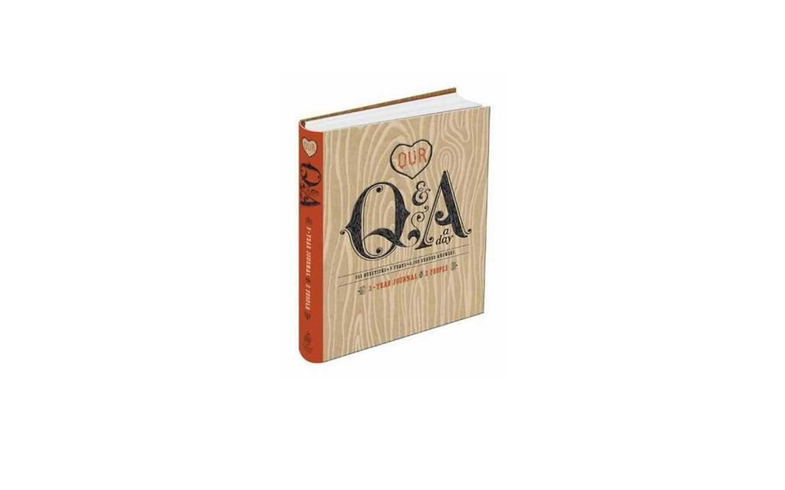 Our QA A Day 3 Year Journal For 2 People