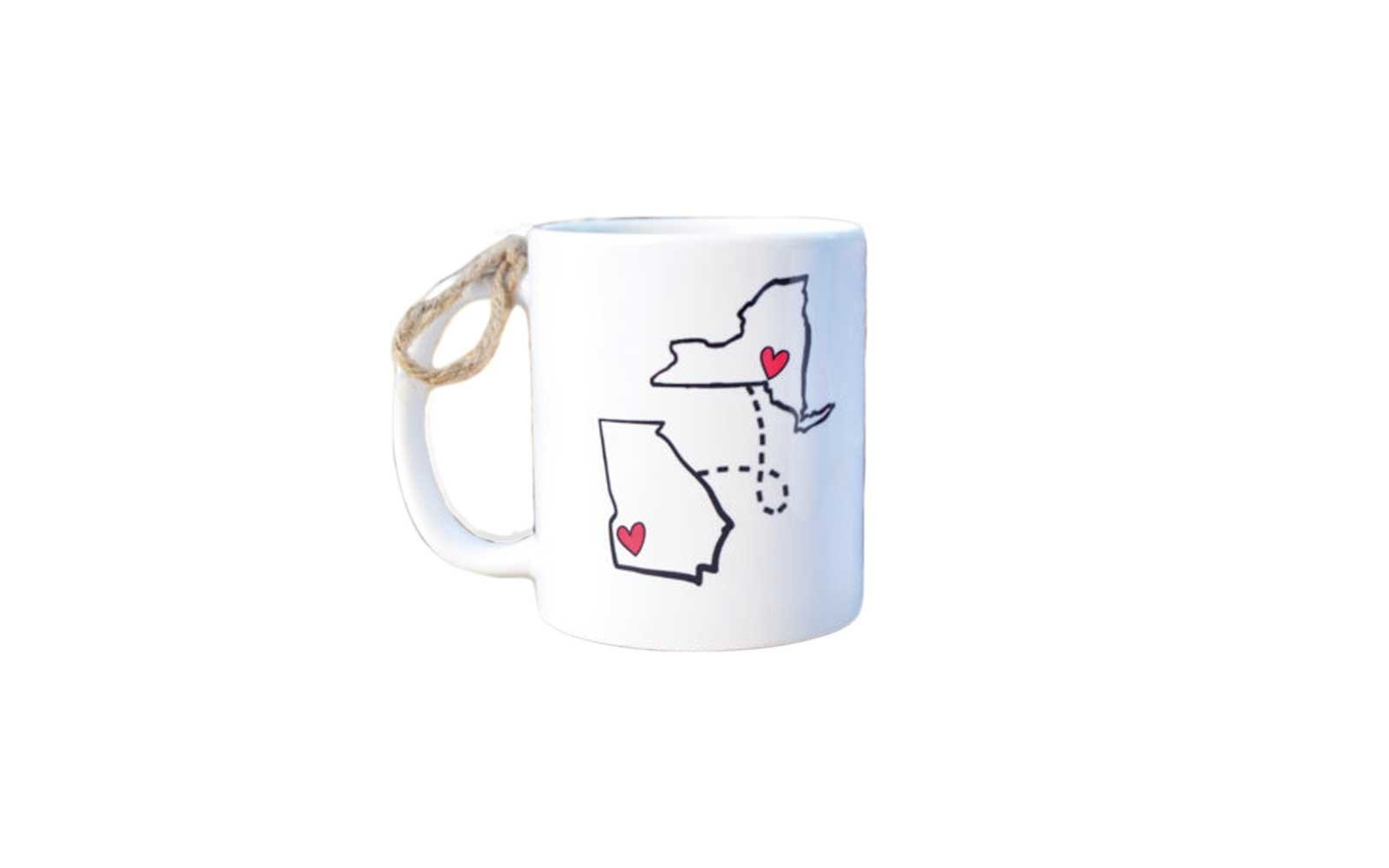 State to State Long Distance Mug