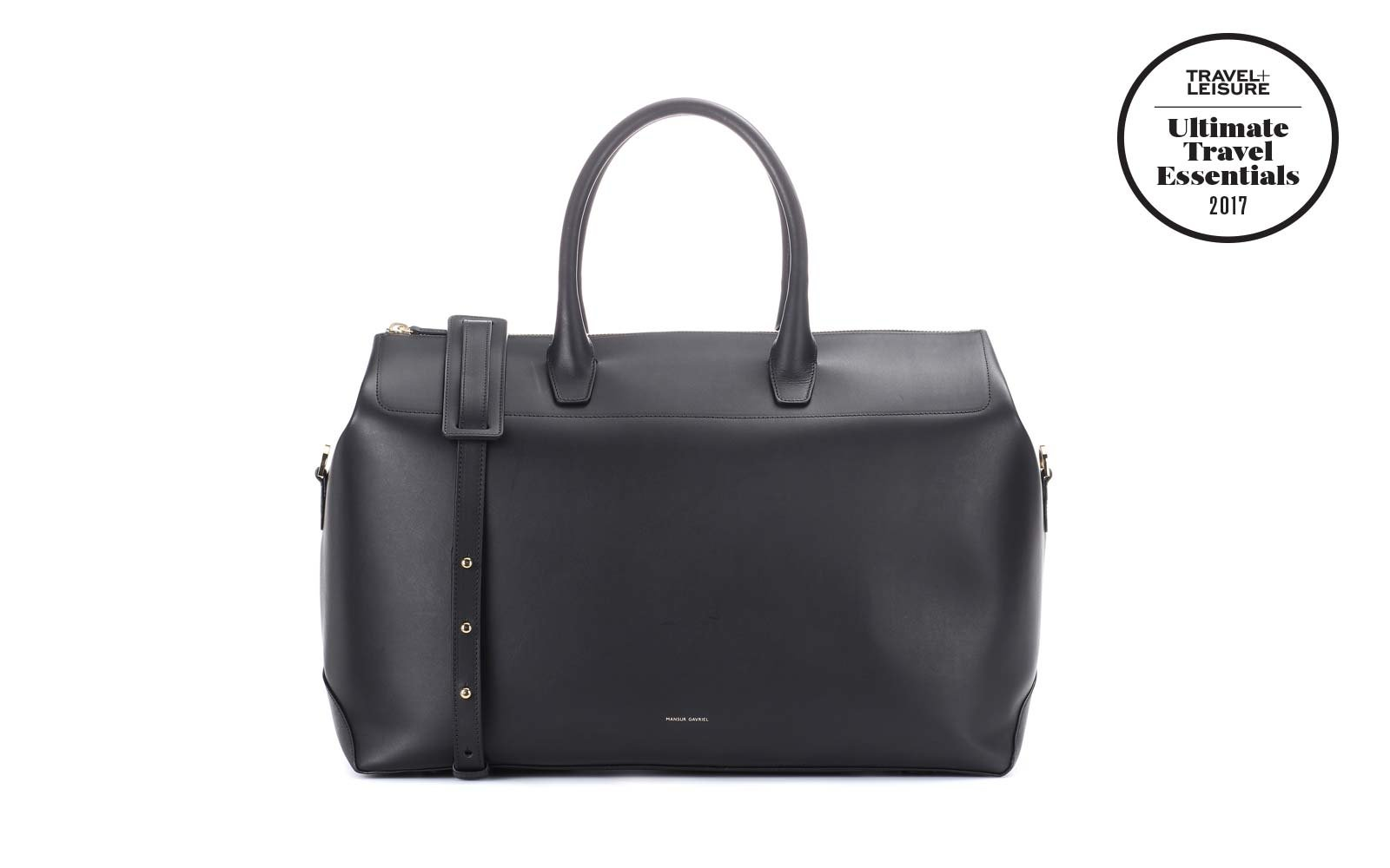 Mansur Gavriel Leather Travel Bag