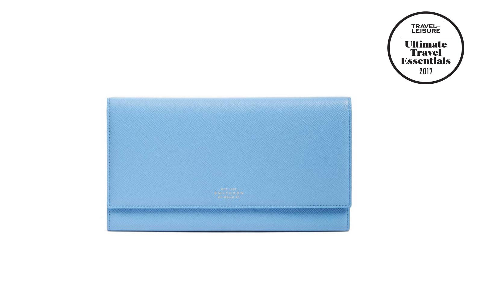 Smythson Travel Wallet