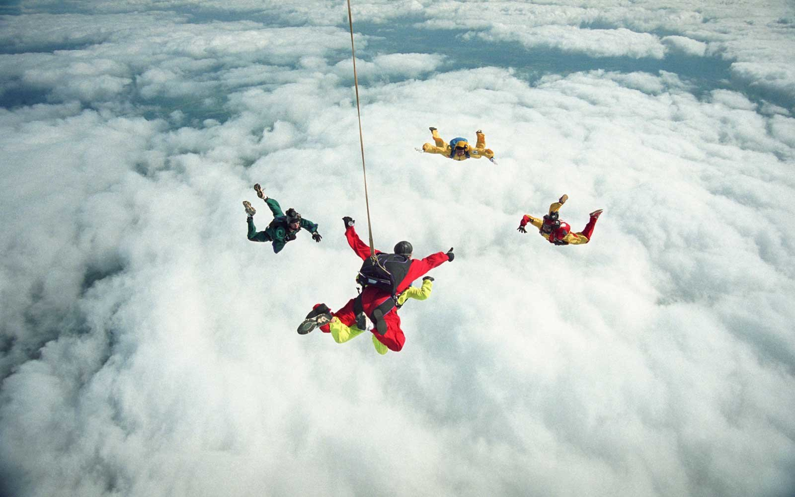 Skydiving in Vermont