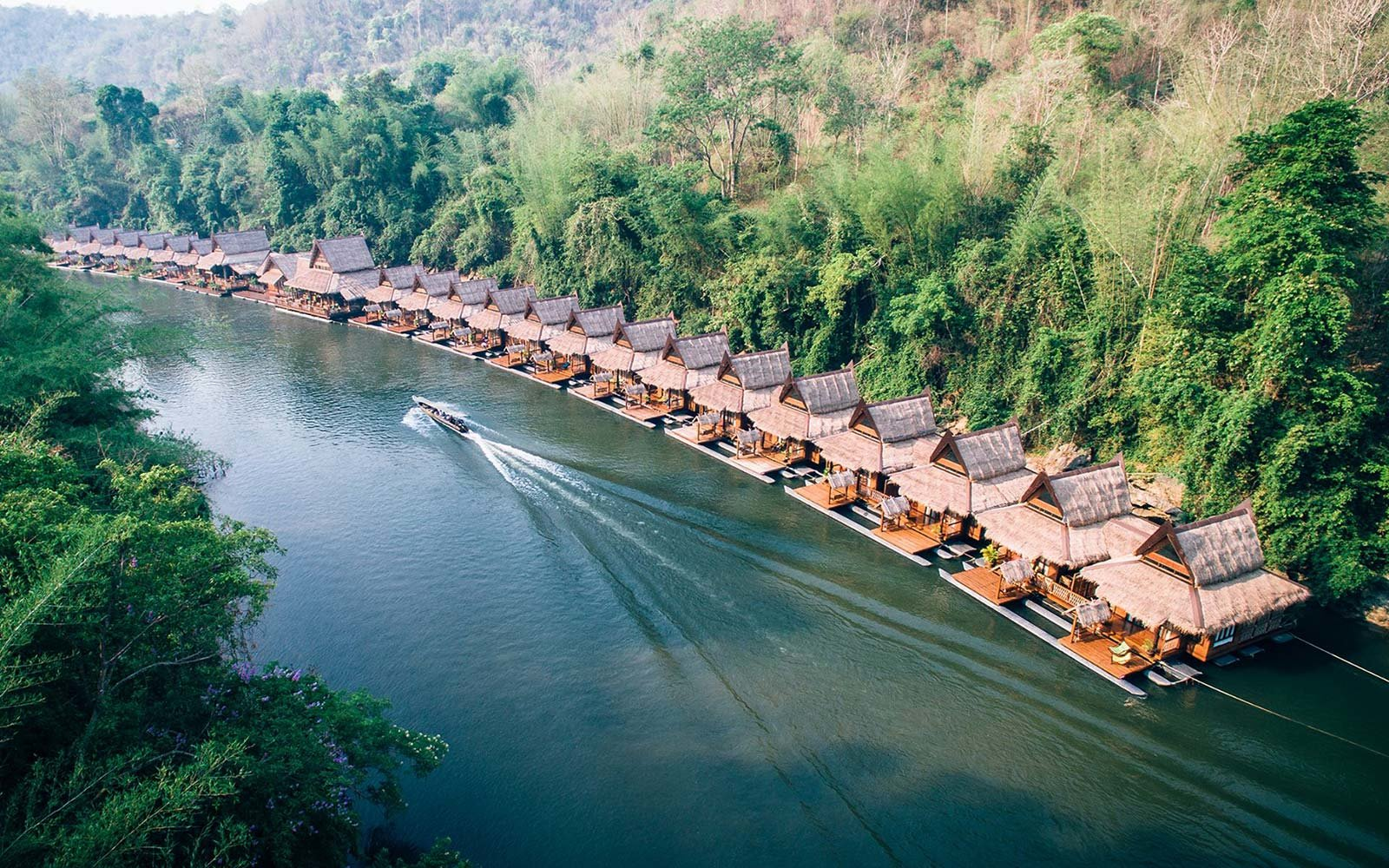 Float House River Kwai Resort Thailand