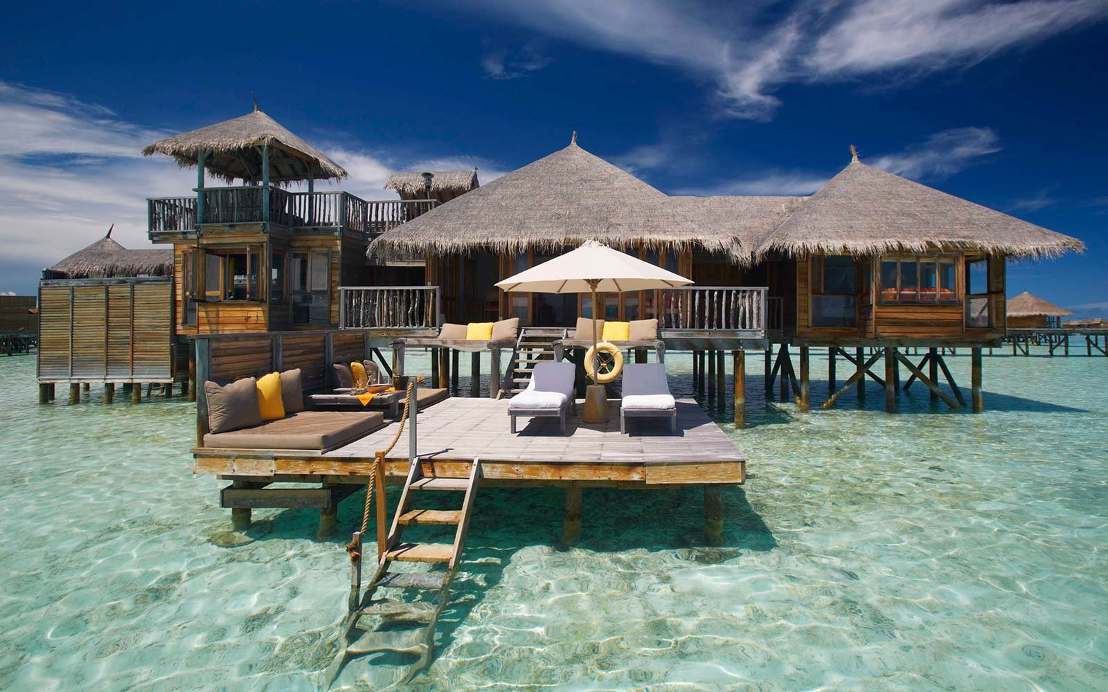 Gili Lankanfushi Island Maldives Resort Floating Hotel