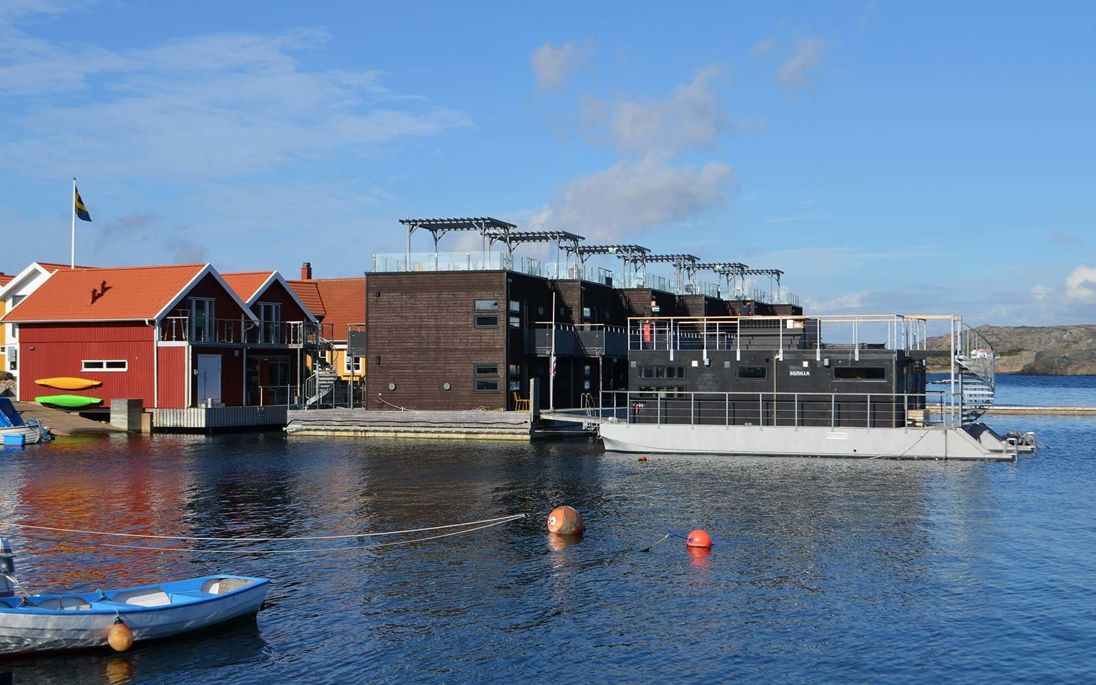 Salt & Sill Sweden floating hotel