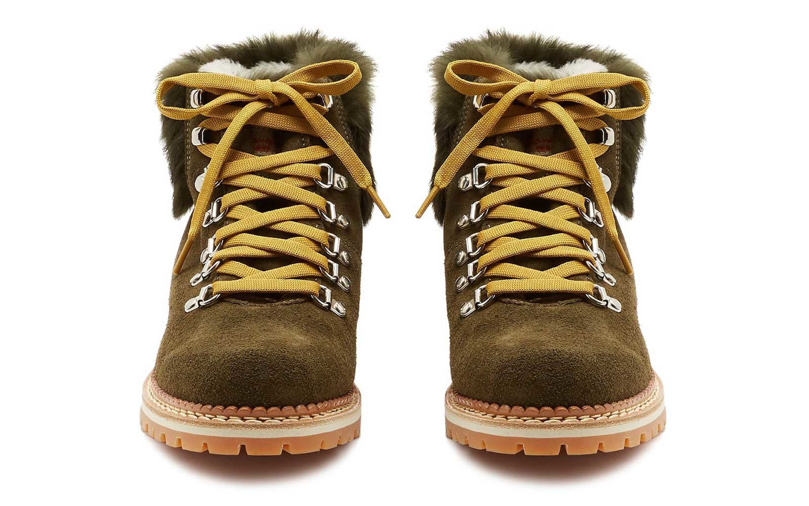 Fur Trimmed Winter Boots