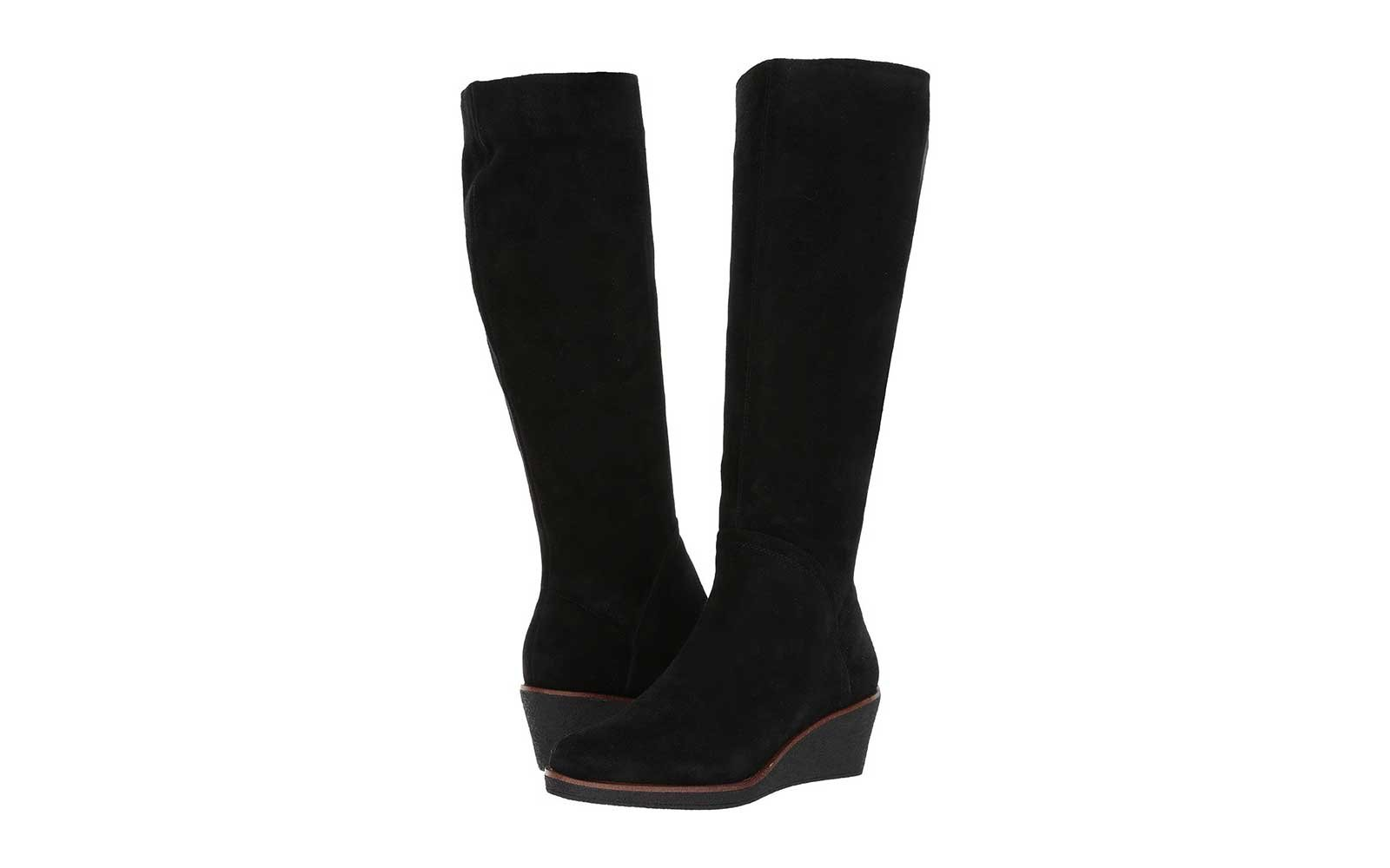 Suede Wedge Boots by Aerosoles