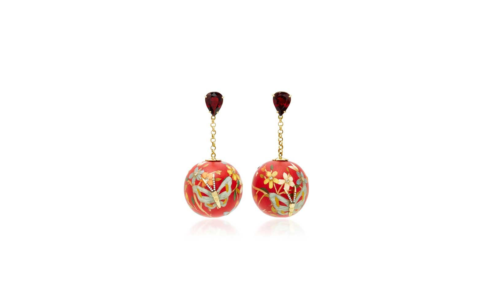 Bangkok, Thailand: Silvia Furmanovich Earrings