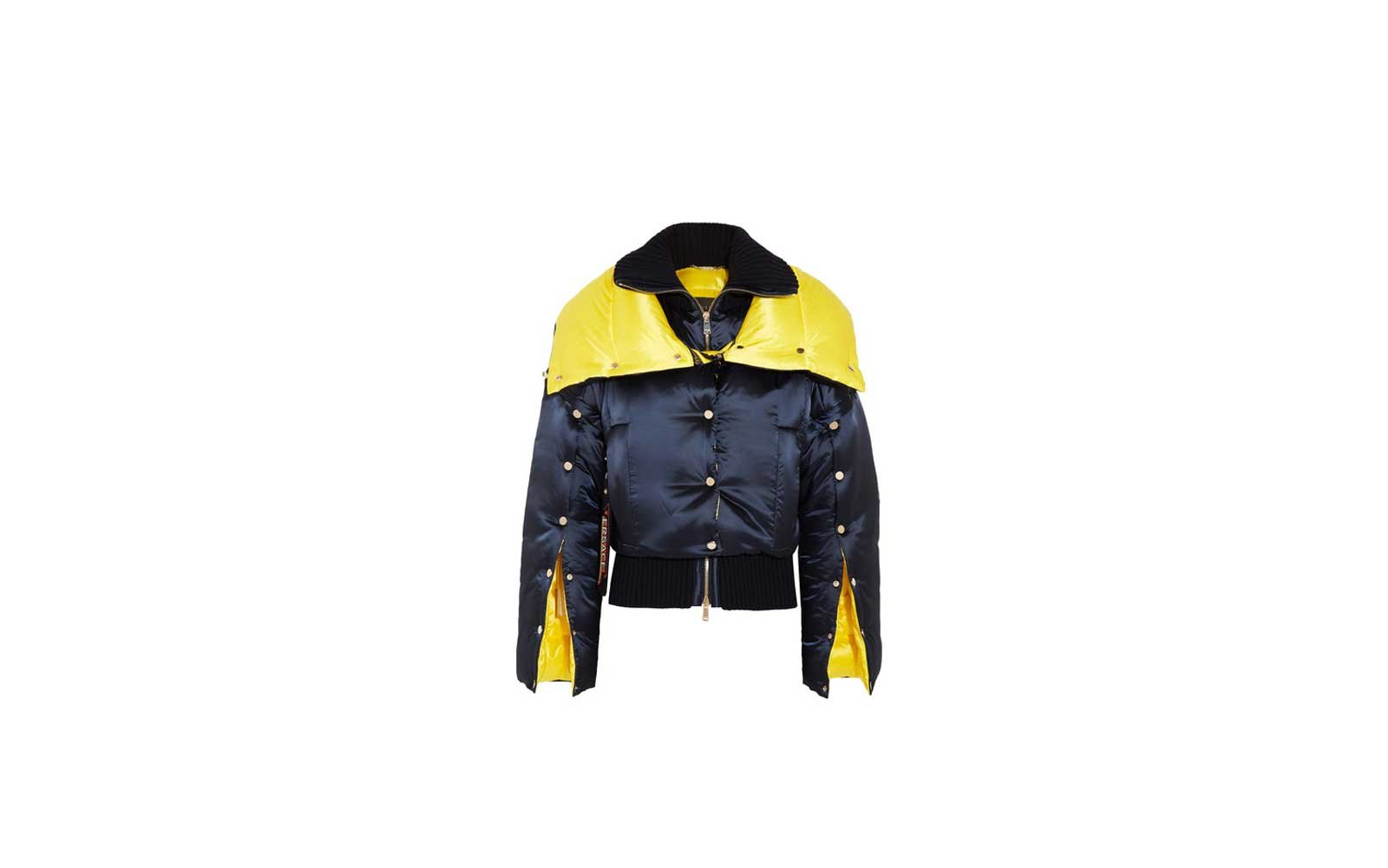 Chicago, Illinois: Versace Puffer