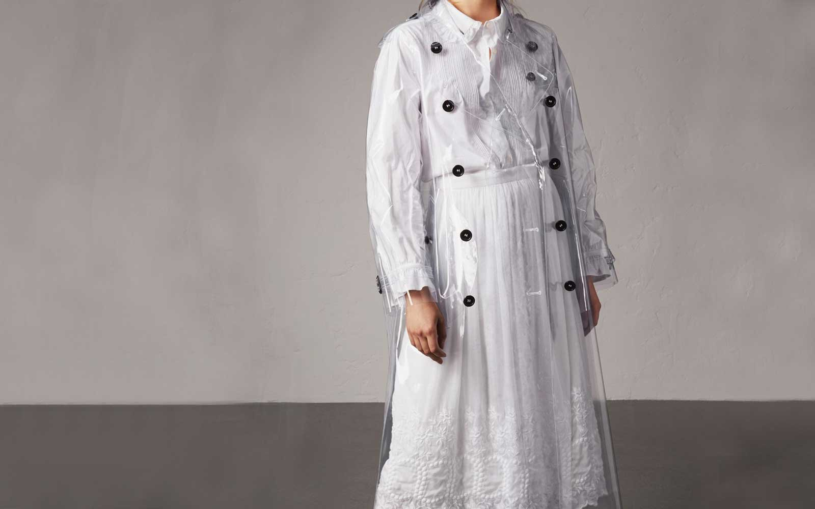 London Burberry Rain Coat