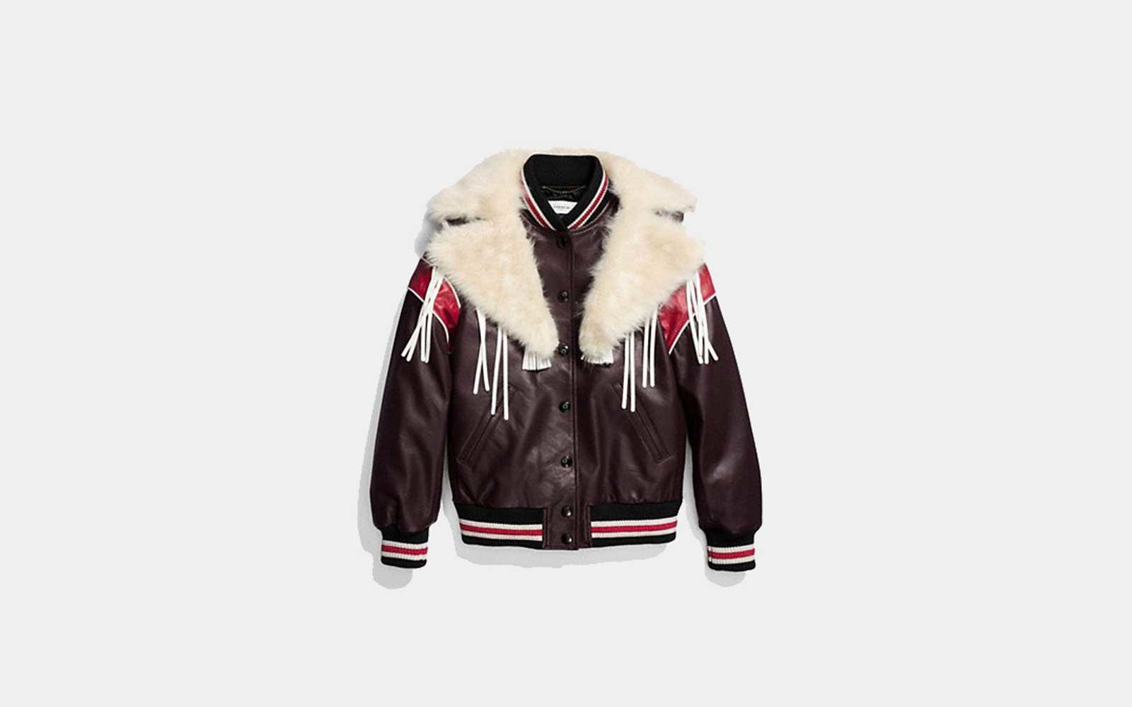 New York City, New York: Coach Varsity Jacket