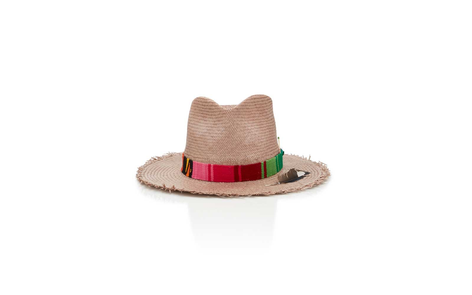 Santa Fe, New Mexico: Nick Fouquet Straw Hat