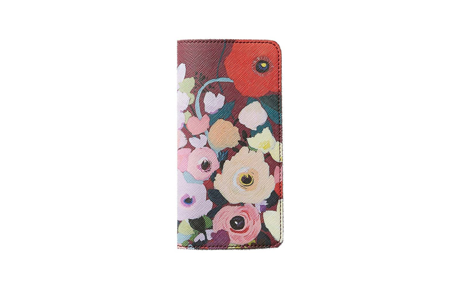 KT Snails floral travel wallet