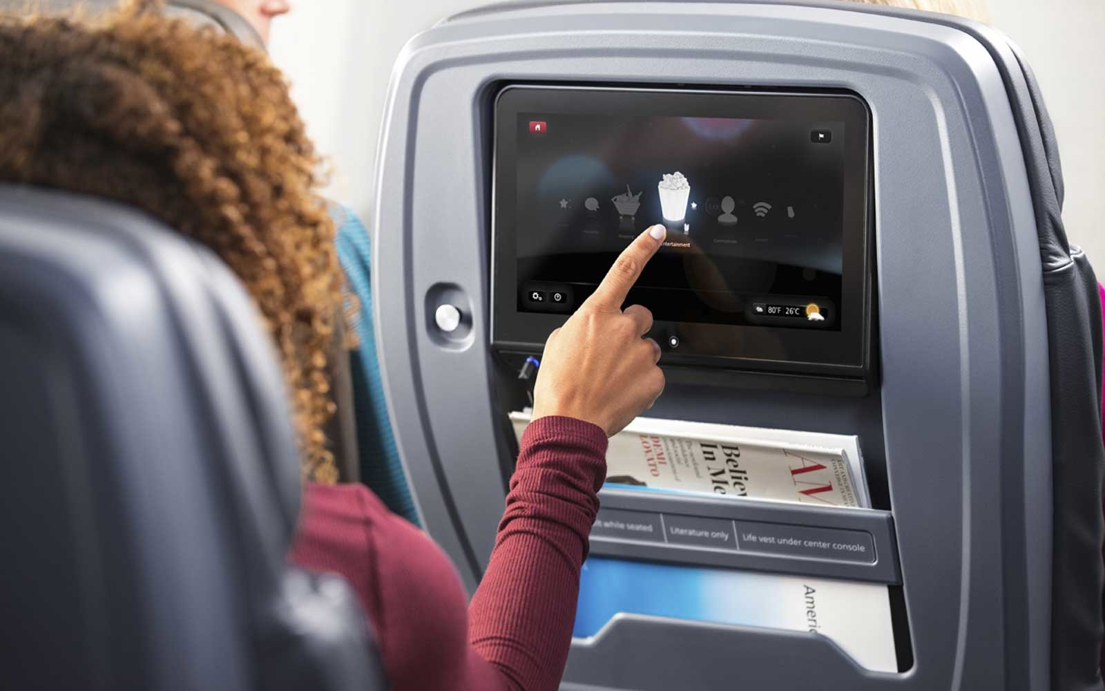 A Guide To Using Inflight Entertainment On American