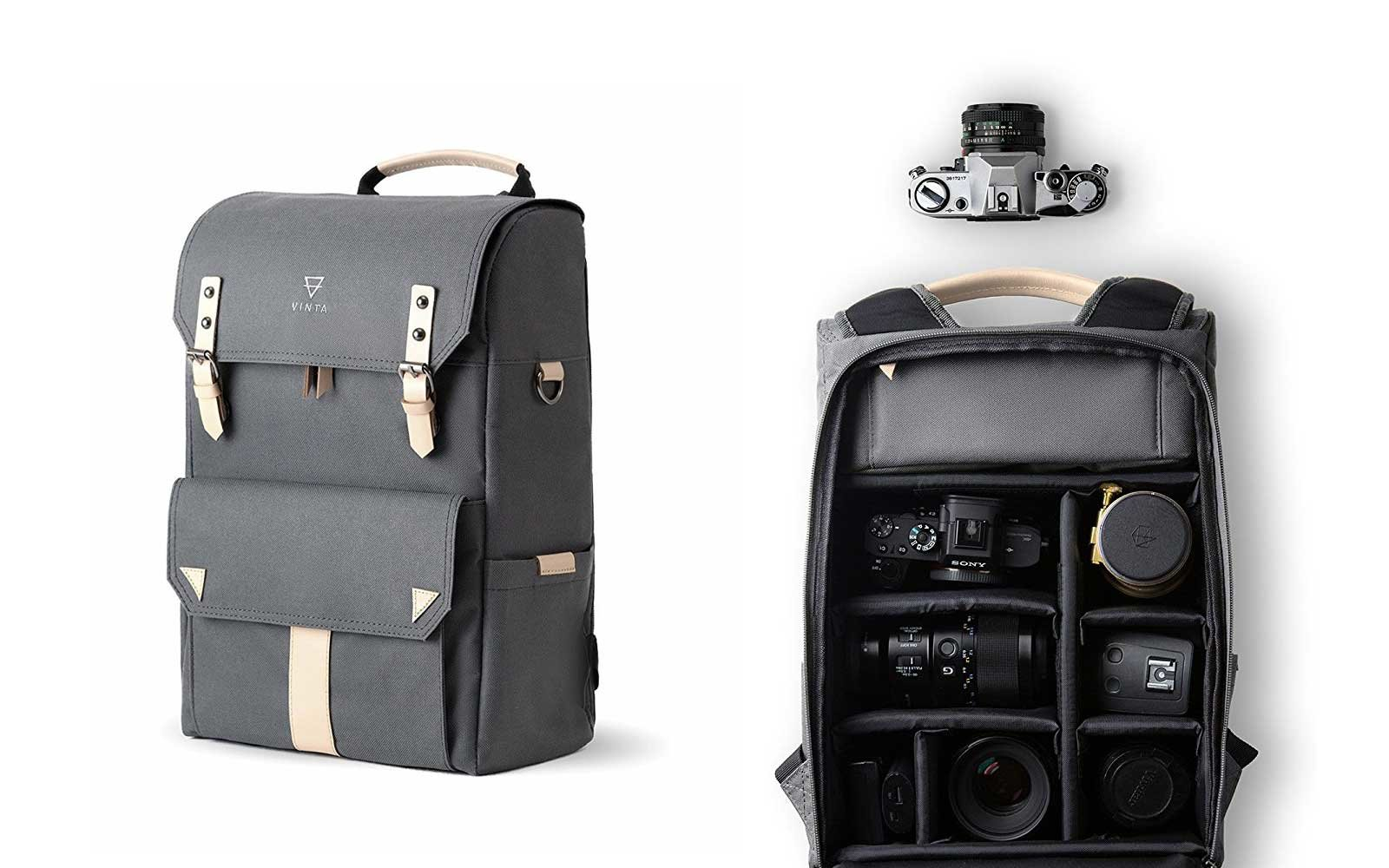Travel Camera Backpack from VINTA