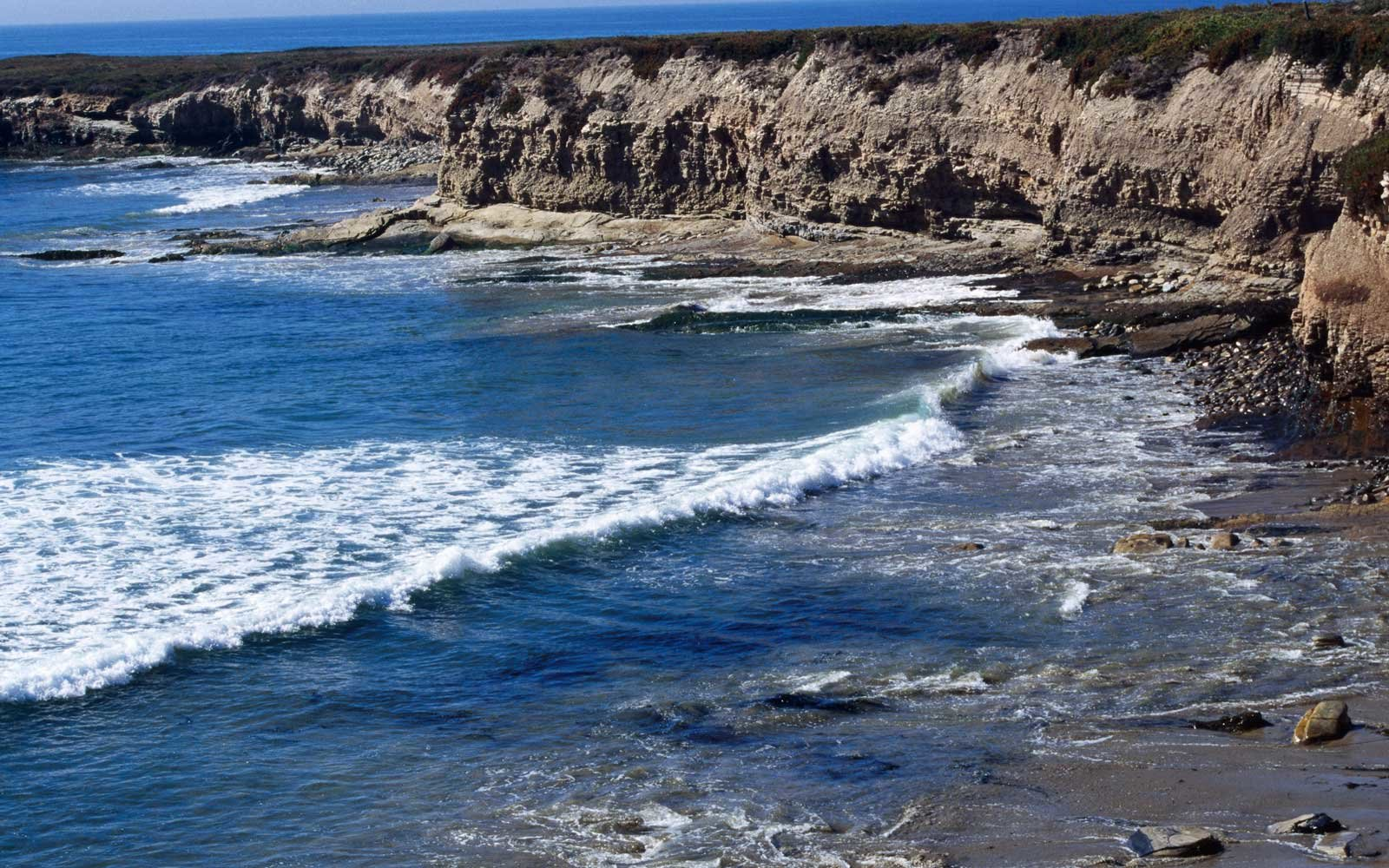 Bixby Ranch Coastline in California
