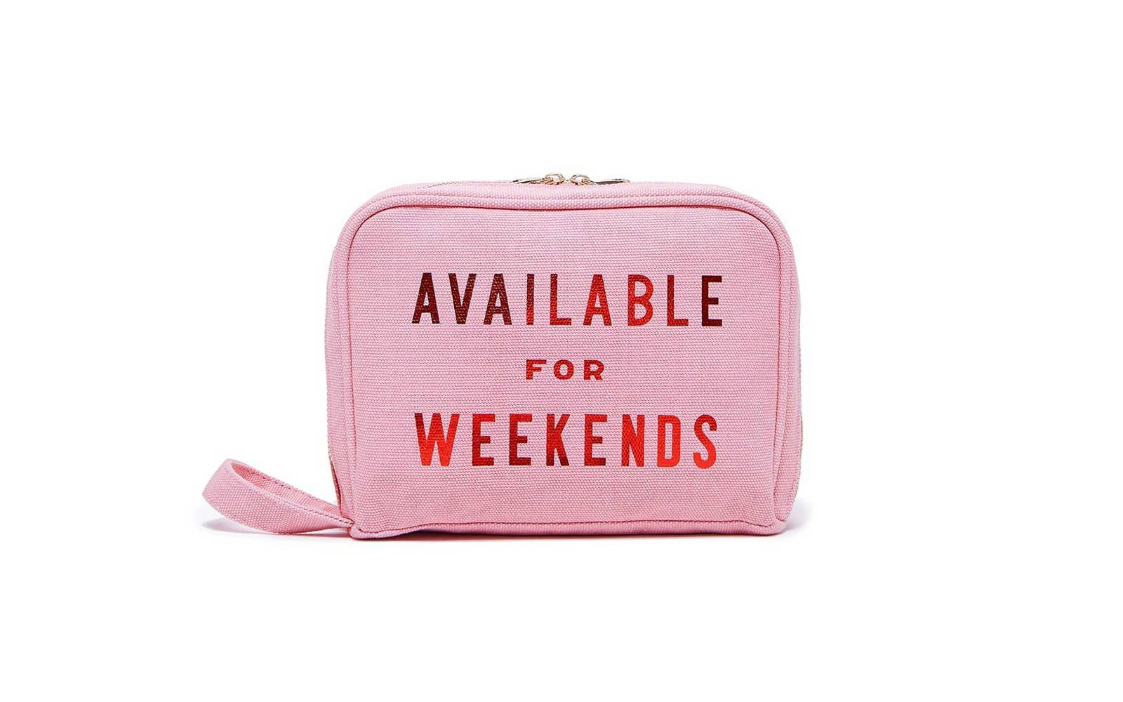 Toiletries Bag - Available for Weekends