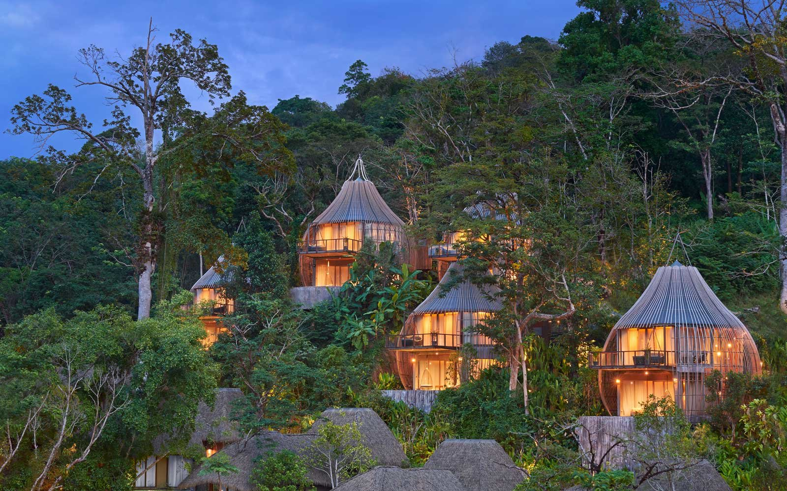 Thailand Tree Pool Houses Exterior Keemala