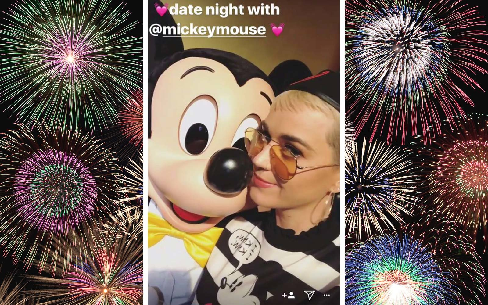 Katy Perry Disneyland California