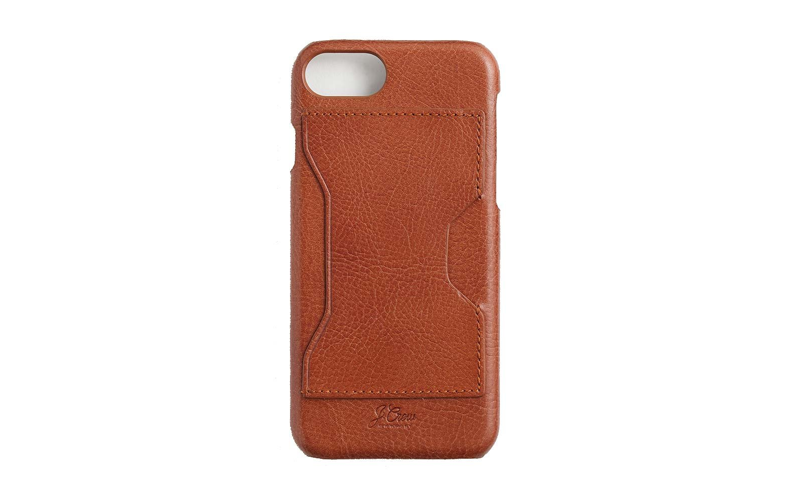 J. Crew leather iphone case with cardholder