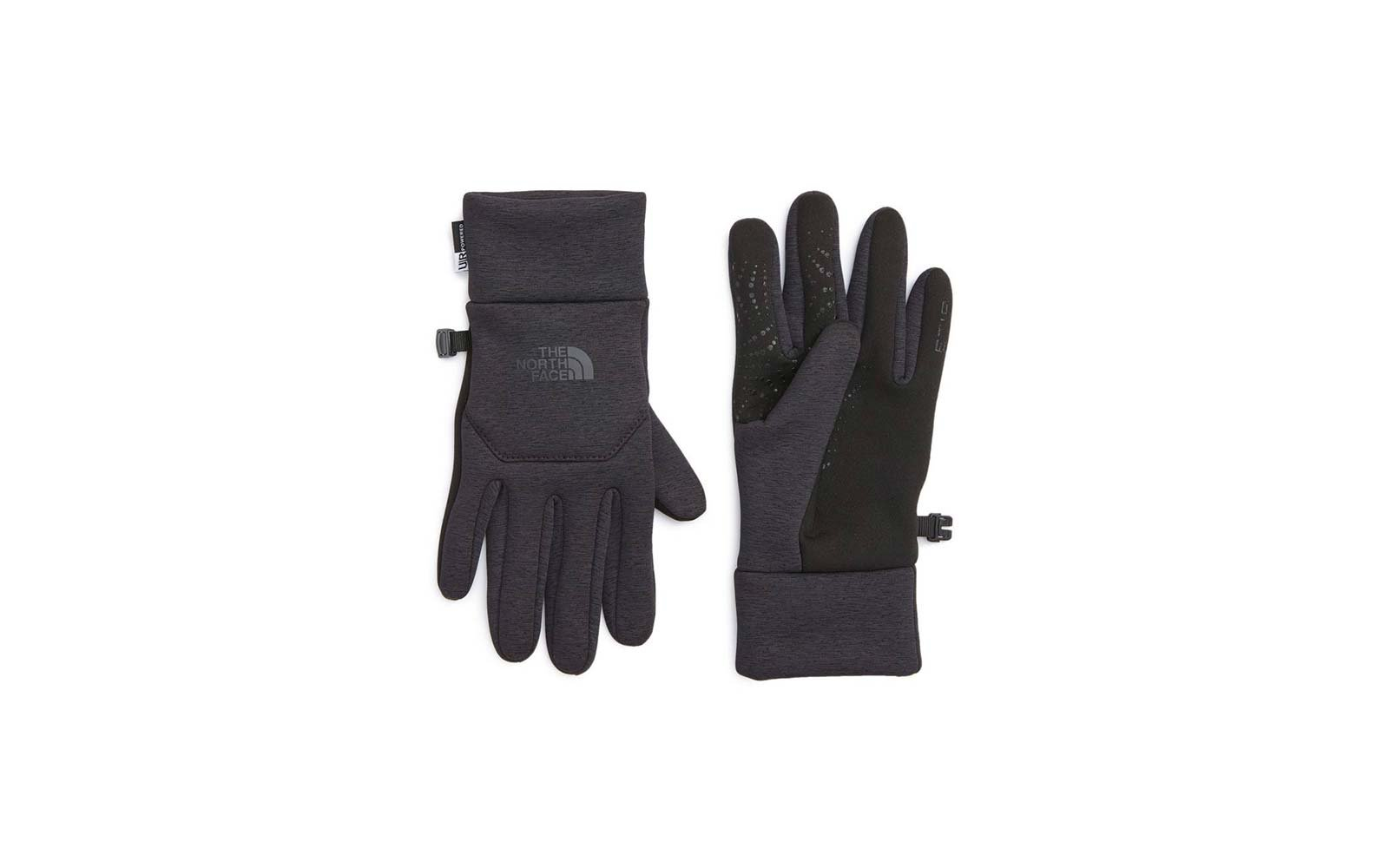 The North Face fleece tech fingertip gloves