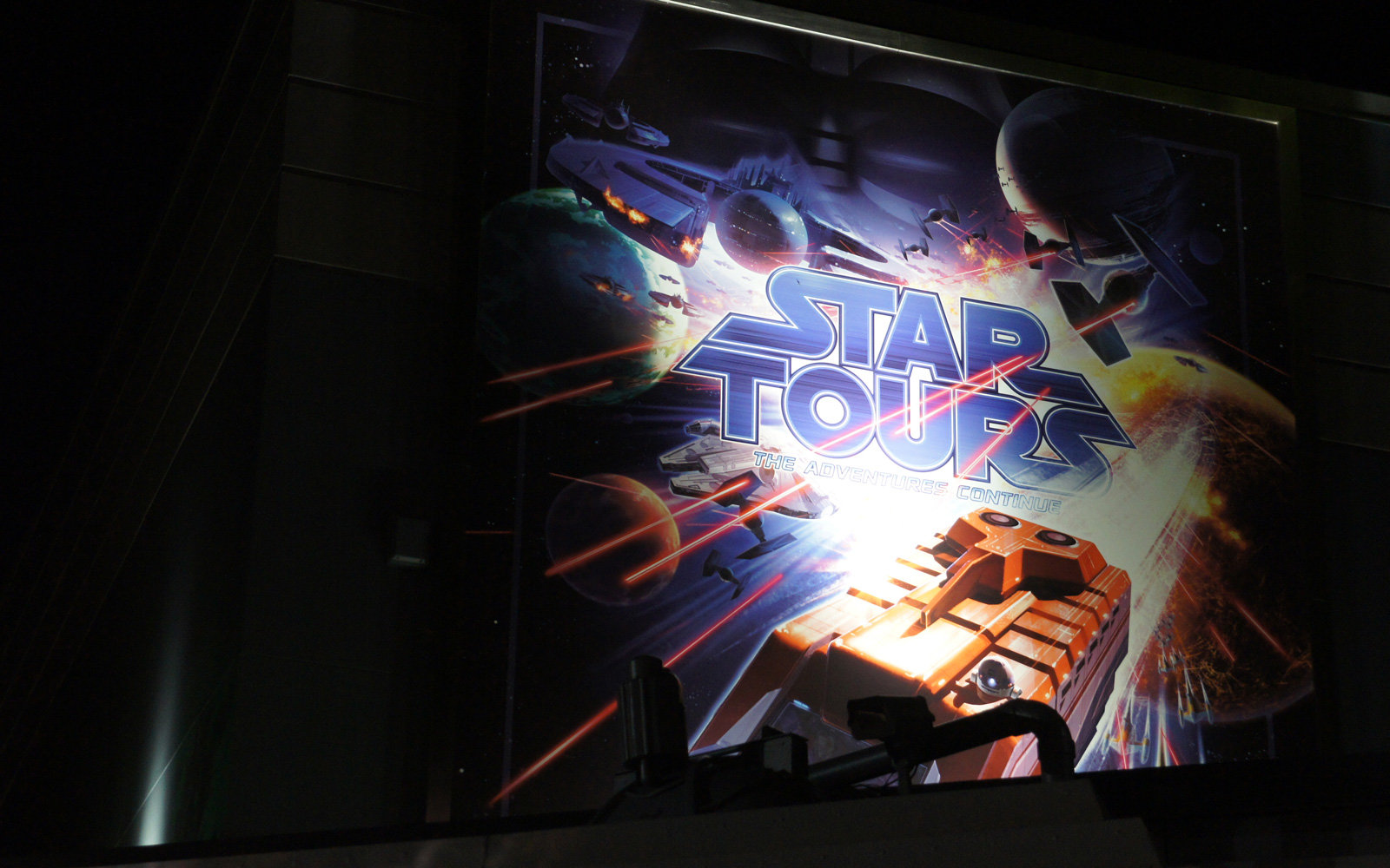 Star Tours at Disney World.