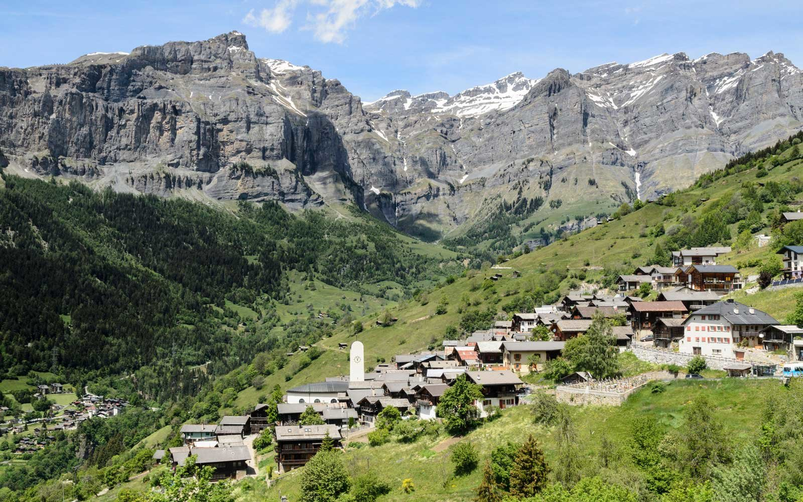 This gorgeous town in the swiss alps will pay you to live for Village town