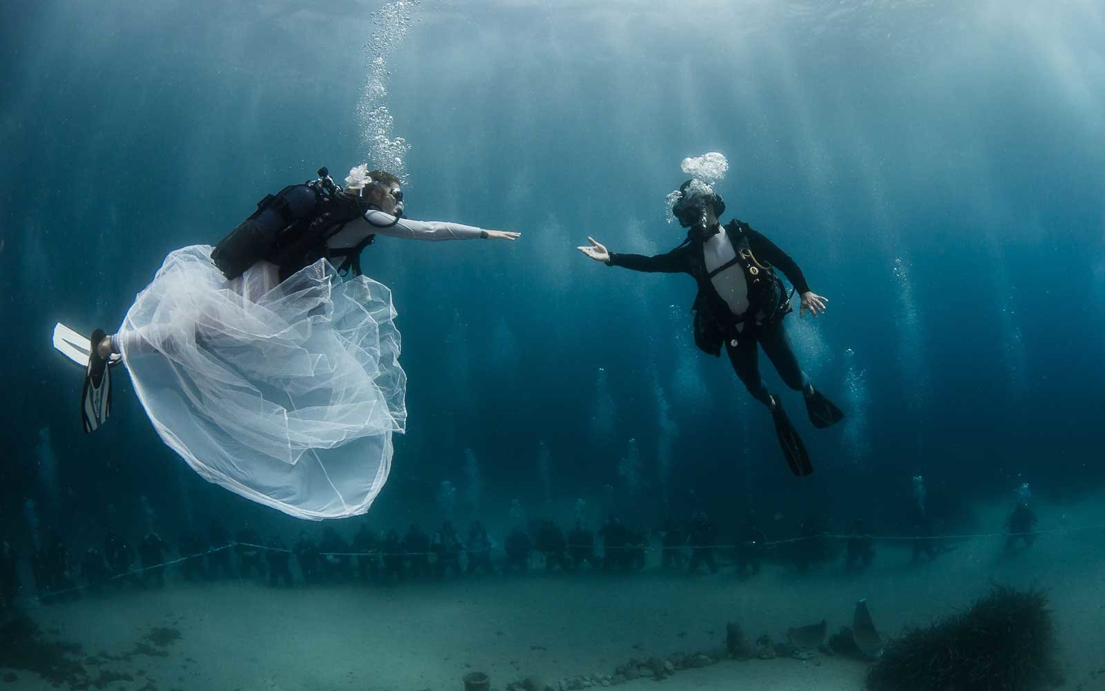 You Could Have An Underwater Wedding In Monte Carlo