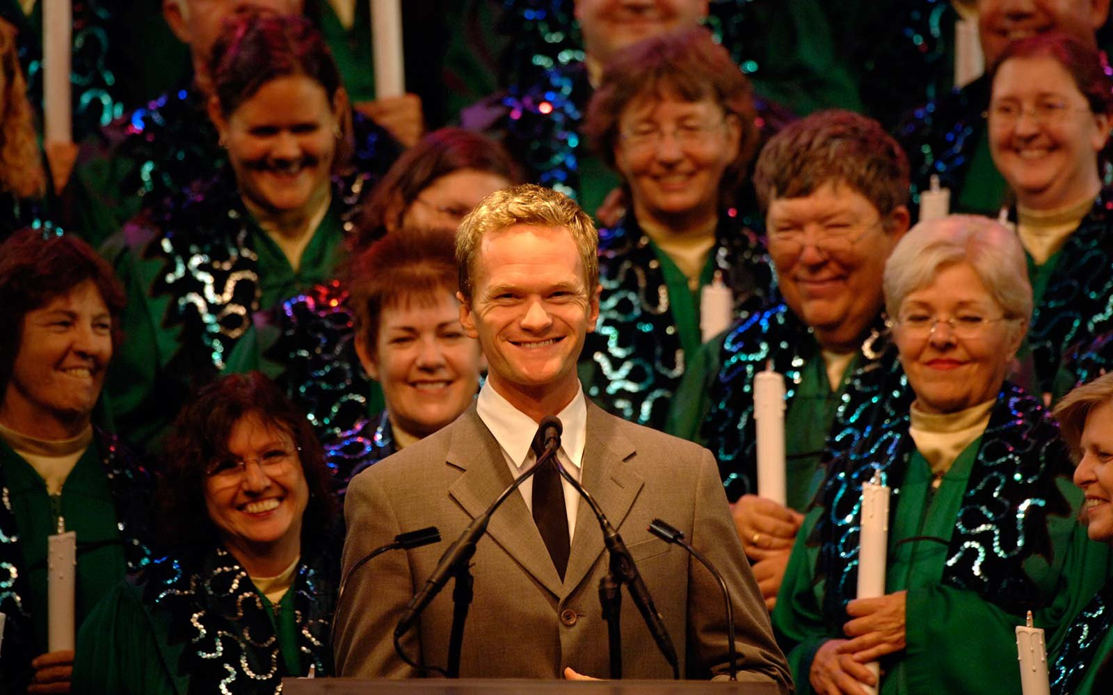 Neil Patrick Harris Disney Candlelight Processional Christmas Holiday