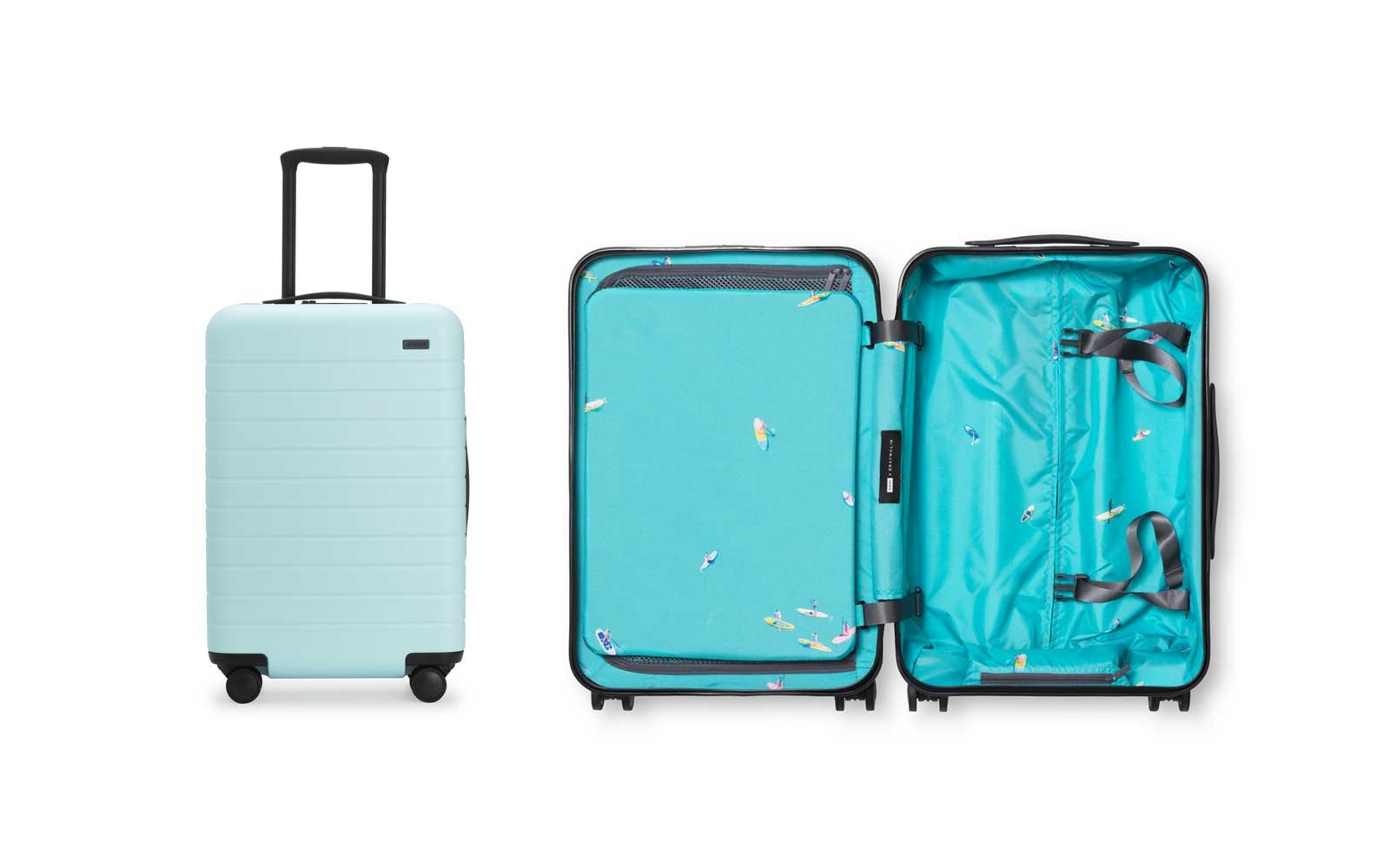 Away x Gray Malin luggage