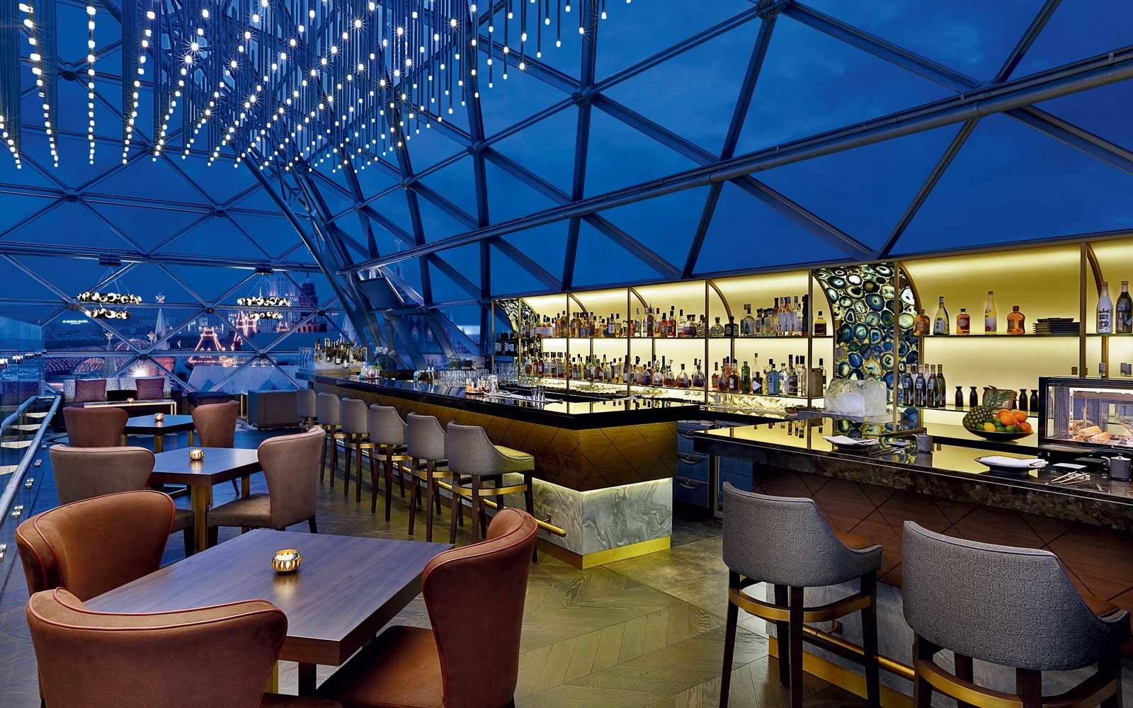 O2 Lounge at the Ritz Carlton Moscow