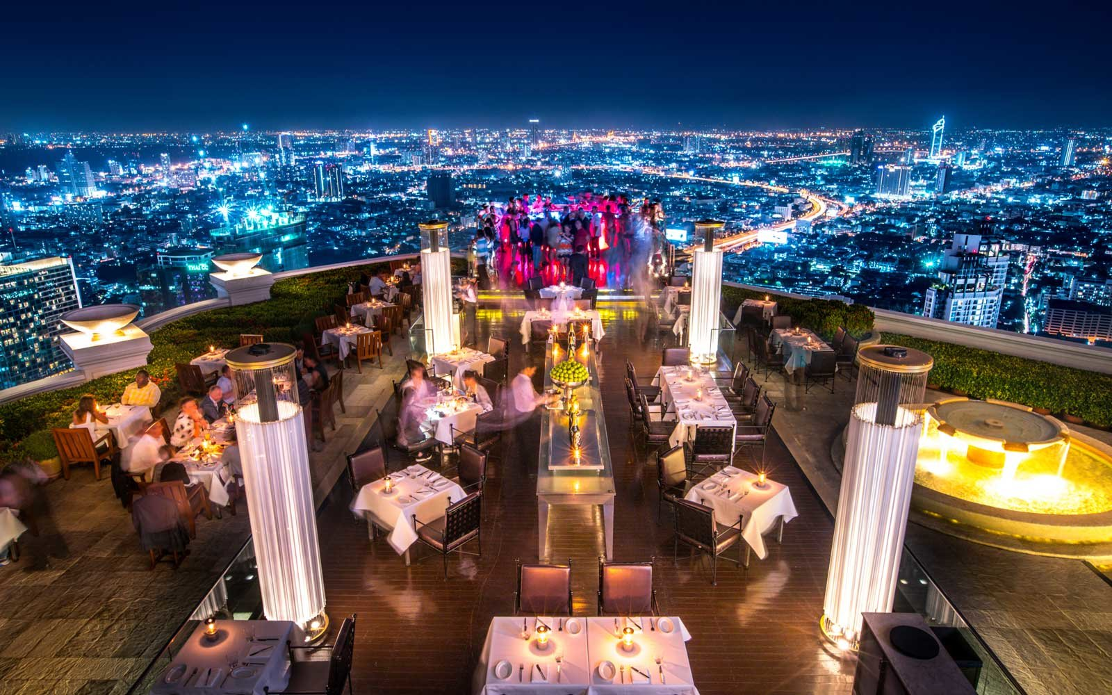 Sky Bar at lebua at State Tower in Bangkok