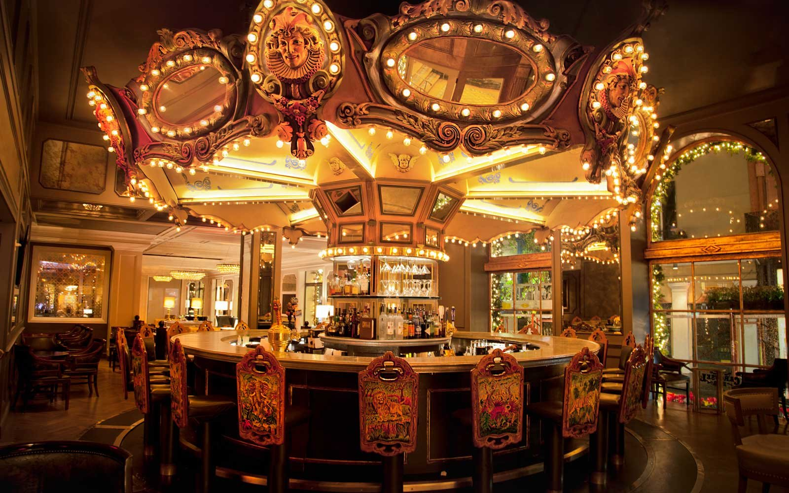 The Carousel Bar at Hotel Monteleone in New Orleans