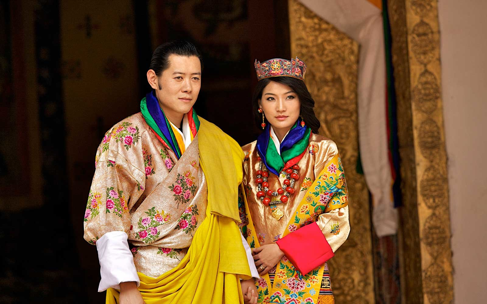 Bhutan Celebrates As The King Marries