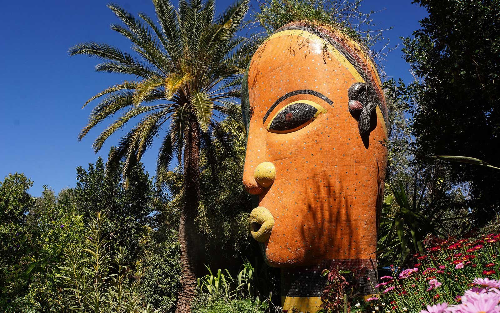 Andre Heller's ANIMA art garden in Marrakech, Morocco