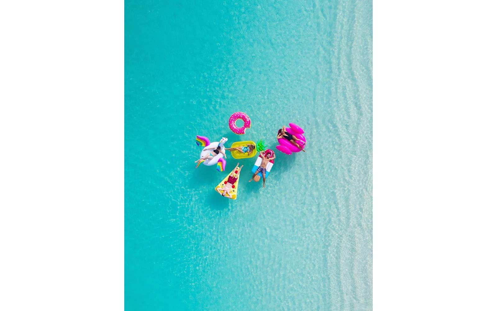 Floats in the Turks & Caicos