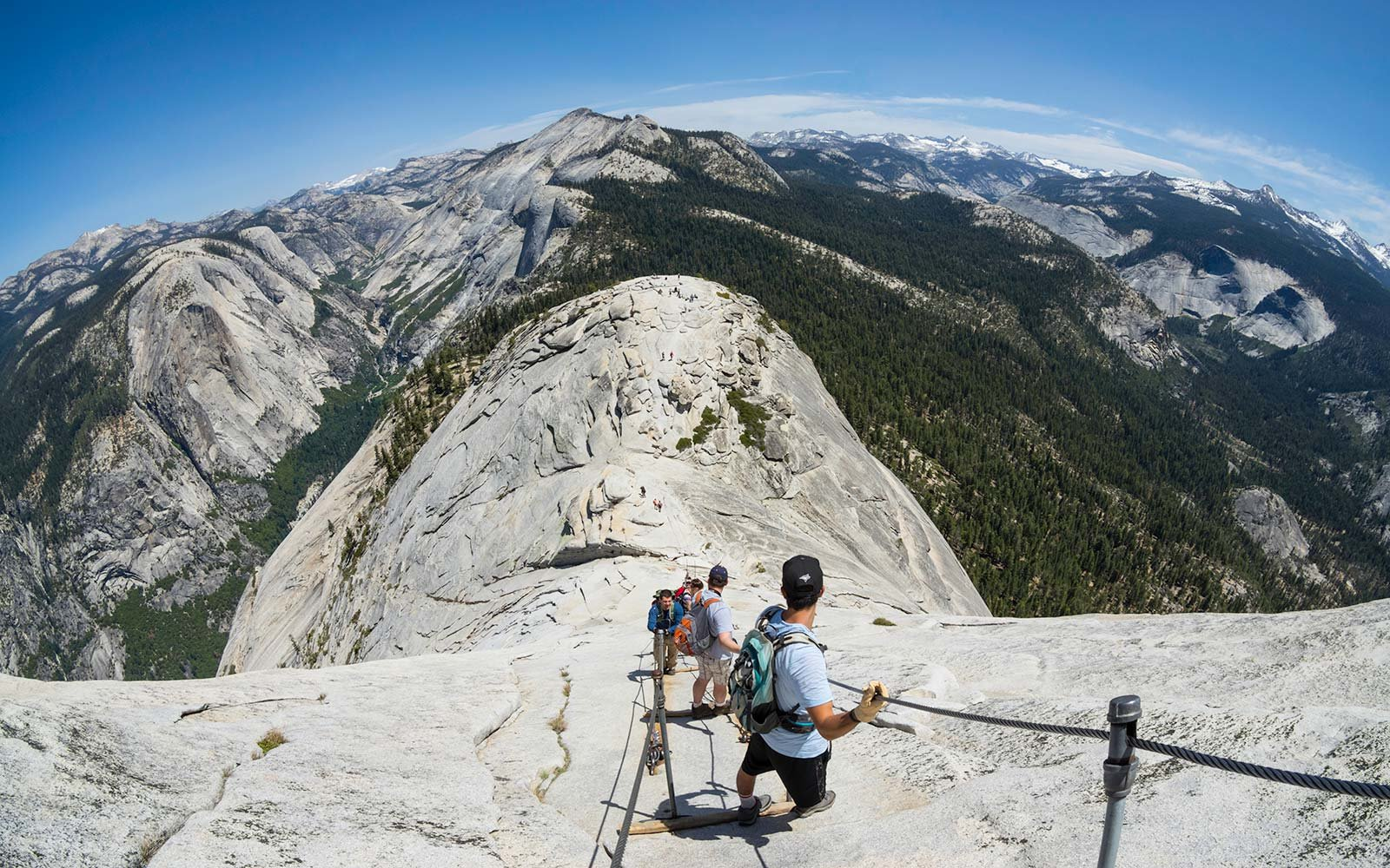 This Hike in Yosemite National Park Has Gorgeous Waterfalls and Scenic Views — but It's Also the Park's Most Difficult