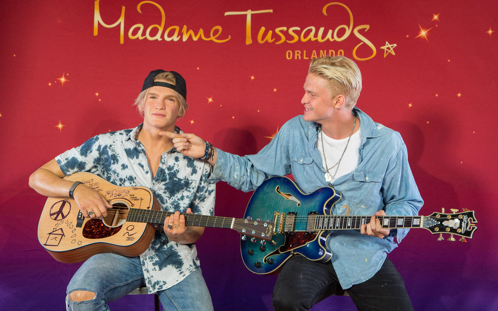 Madame Tussauds Wax Museum in Orlando, Florida